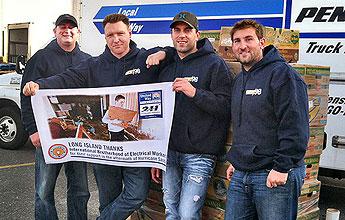 IBEW members in Long Island