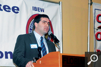 Third-generation IBEW member Paul Mark, a former Verizon line technician, leads the Mass. legislature in efforts to make higher education more affordable. - See more at: http://ibew.org/articles/14ElectricalWorker/EW1406/WhoWeAre.0614.html#sthash.kdcgUrze.dpuf